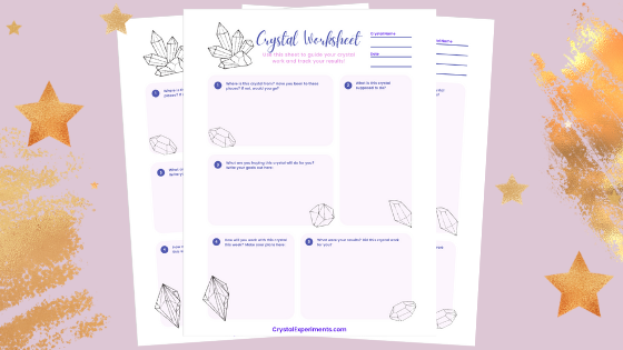 Free Crystal Worksheets