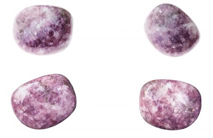 Lepidolite Stones